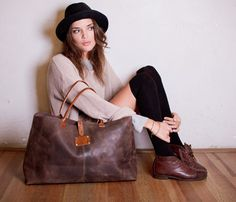 Fancy Franny Leather Bag