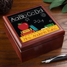 The perfect personalize gift for any teacher!