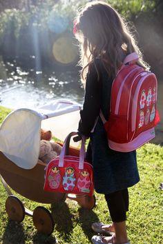 Bobble Art: A Love Story      #babushka #handbag #backpack #girl #lifestyle #children #kids #accessories #headband #teddy
