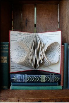 Love this series of folded books…more on the site