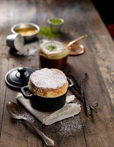 Soufflé vanille et matcha de © Capture Lynn d'ong.