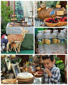 Camping Themed Graduation + Birthday Party via Kara's Party Ideas | KarasPartyIdeas.com (2)