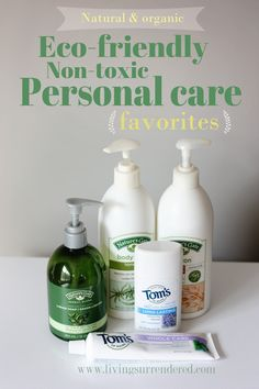 non toxic personal care.  a great list!
