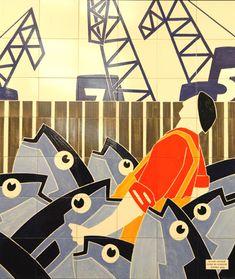 Thierry & Lannon - Commissaires priseurs : Enchères Publiques de bateaux, tableaux, objets d'art. Thierry, Objet D'art, Les Oeuvres, Art Nouveau, Symbols, Graphic Design, Illustrations, Pop, Architecture