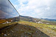 'norwegian wild reindeer centre pavilion' by snøhetta, dorve, norway
