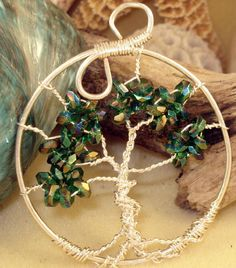 Enchanted Pathways - Projects, Beading Tips & Techniques: Tree of Life - Wire wrapping