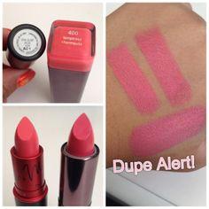 Dupe for MAC Nicki Minaj Viva Glam! Covergirl Lip Perfection in Temptress