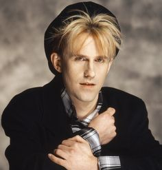 Howard Jones. Once at Irvine Meadows. About this era too.