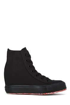 Converse All Star High-Top Platform Sneaker - Black