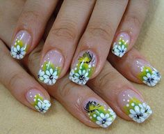 pictures of colorful nail designs