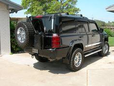 My Steel Armadillo Rear Bumper and my Mod's