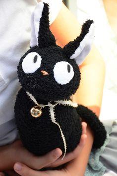 #222 sock cat (黑貓)