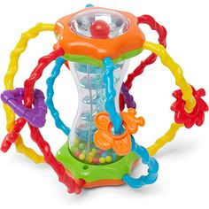 """Gender neutral toys teach your little ones to learn share their favorite toys.  This """"ball"""" has many activities and stimuli that will provide your little ones with endless hours of fun!"""