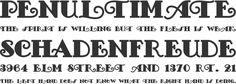 FancyPants Alphabet -font-typography   Phrases