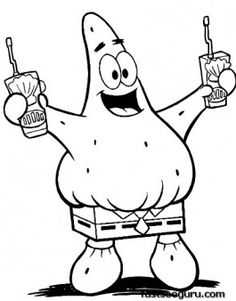 Looks Spongebob Coloring Page Funny and Interesting | My Inner ...