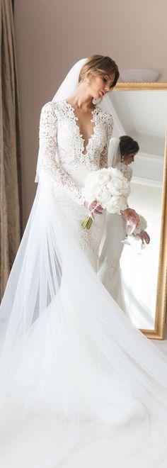 Stunning #BERTA bride from Saint Petersburg <3 Pictures by Fontana Wedding