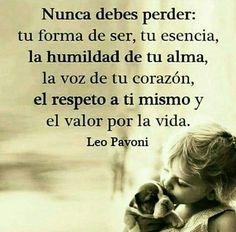 Nunca debes perder....