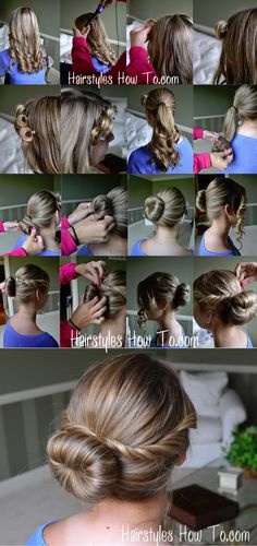 Easy Twist Bun Tutorial