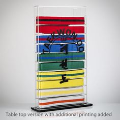 Martial Arts Belt Display Case