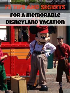 75 Tips and Secrets for a memorable Disneyland Vacation!