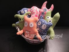 pocket monsters! from littlepeepsbysuzyd on Etsy