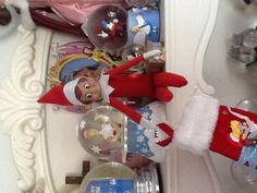 Day 17- Elf on the Shelf