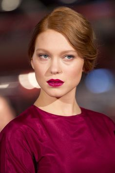 Léa Seydoux lip colour love