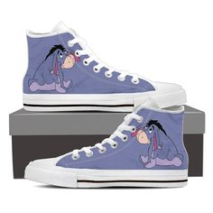 Discover recipes, home ideas, style inspiration and other ideas to try. Cute Teen Outfits, Disney Outfits, Cute Sneakers, High Top Sneakers, Winnie The Pooh Friends, Pooh Bear, Eeyore, Shoe Art, Disneybound