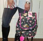 ❞ #BETSEY JOHNSON Backpack #Floral  #Pink BLACK multi color Travel, gym dia... Be http://j.mp/2mOIq26