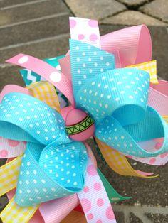 Easter Bows! AshlynRoseBows on Etsy