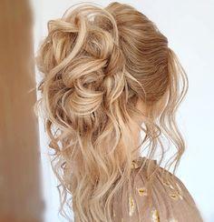 A loose curly voluminous hair up #hairup #curls #essexweddings #stylinghair #bridalhair #bridetobe #sexyhair #bridesmaids #hairupideas Date Hairstyles, Wedding Hairstyles, Long Curly Hair, Curly Hair Styles, Bridesmaid Hair, Bridesmaids, Bridal Hair Up, Romantic Updo, Voluminous Hair