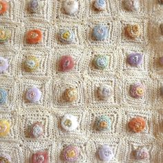 Sophie Digard absolutely beautiful crochet blanket