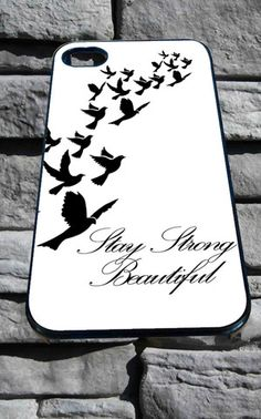 Stay Strong Demi Lovato for iPhone 4/4s, iPhone 5/5S/5C/6, Samsung S3/S4/S5 Unique Case *76* - PHONECASELOVE