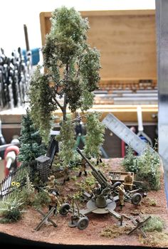 Dioramas and Vignettes: The first combat, photo #1