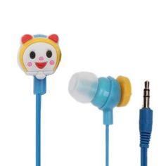 Doraemon+3.5mm+Plug+in-Ear+Earphone+for+iPod+/+iPhone+/+MP3+/+MP4