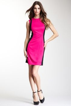 Cynthia Steffe Charlotte Colorblock Dress