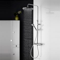 Lækkert brusesæt med LED lys WL 01 til vægmontering Led, Design