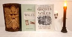"""Join Mark Rees - host of the """"Ghosts & Folklore of Wales"""" podcast and author of books such as """"Parnormal Wales"""" - for a journey through the """"most haunted"""" locations in Wales. Ghosts of Wales: """"Spine-chilling reports of two-headed phantoms, murdered knights and spectral locomotives filled the pages of the press."""" The A-Z of Curious Wales: """"Wales' history is packed with peculiar customs and curious characters. Here you will discover alien landscapes, ancient druids and a Victorian ghost hunter."""" Most Haunted, Haunted Places, History Of Wales, Old Pub, Ghost Hunters, Ghost Stories, Weird And Wonderful, Little Books"""