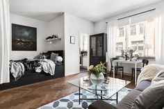 Studio Apartment Efficiency Design Ideas with The Advantages