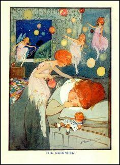 ≍ Nature's Fairy Nymphs ≍ magical elves, sprites, pixies and winged woodland faeries - Hilda Cowham Vintage Fairies, Vintage Art, Art Magique, Album Jeunesse, Kobold, Love Fairy, Fairytale Art, Flower Fairies, Fairy Art