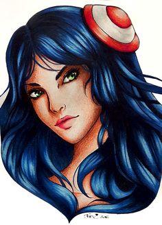 Irelia by Krystal89IT.deviantart.com on @DeviantArt   Vuoi leggere una storia a proposito di League of Legends? Io ne sto pubblicando una : my.w.tt/UiNb/4EkdmudPoy