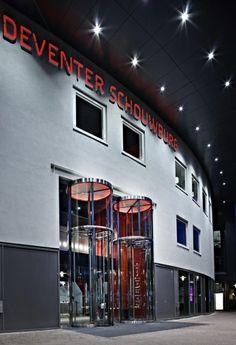 Theatre, Deventer. Tall Revolving Doors