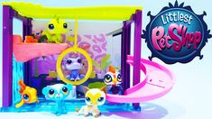 Littlest Pet Shop LPS Toys Pawza Pool Style Playset Toys Review by Hasbr...