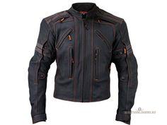 Кожаная мотокуртка для мужчин street Motorcycle Jacket от...