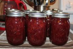 Strawberry Honey Jam Made this is blackberry too! I don't know that we can go back to store bought jam.