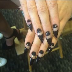 kendall-kyliee:  Kyle's Nails! / May 7th, 2014 (x)