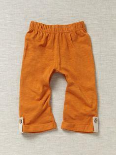 Coyuchi Slub Jersey Leggings Organic Cotton