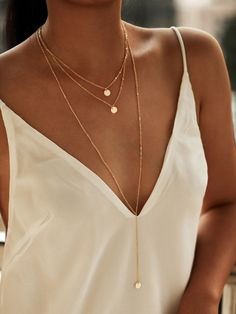 SheIn offers Round Pendant Layered Necklace Set & more to fit your fashionable needs. Cute Jewelry, Gold Jewelry, Jewelery, Jewelry Accessories, Women Jewelry, Gold Bracelets, Gold Earrings, Diamond Jewelry, Bridal Jewelry