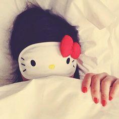 Hello Kitty Sleep Eye Mask   Spotted on keikolynn