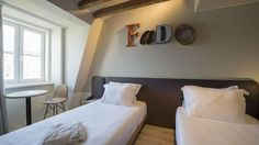 Galeria - My Story Hotels Lisbon, Hotels, Flooring, Bed, Wall, Furniture, Home Decor, Decoration Home, Stream Bed